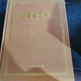 河南省文物志(上下)(精)
