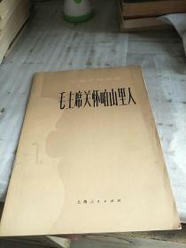 毛主席关怀咱山里人(小提琴独奏曲)