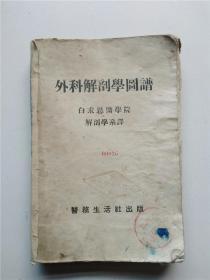 民国初版外科解剖学图谱被莱东人民医院和莱阳区医院收藏