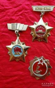 自卫还击战纪念章(3枚)