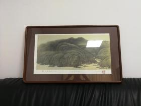 郭宝君版画,限量1张,收藏级(1套一印)。
