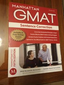 Sentence Correction GMAT Strategy Guide, 5th Edition