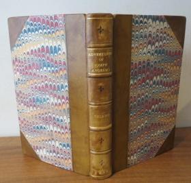1805年 Henry Fielding: Advendures of Joseph Andrews  亨利•菲尔丁小说名著《约瑟夫•安德鲁斯历险记》3/4小牛皮插图古董书善本 品上佳 著名画家Thomas Rowlandson原品铜版画插图