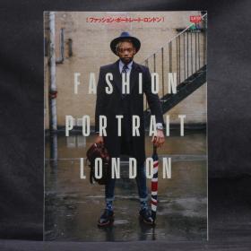 日文原版现货 美式复古 CLUTCH BOOKS:FASHION PORTRAIT· LONDON【时尚肖像·伦敦篇】