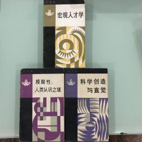 面向现代化,面向世界,面向未来丛书(3册,科学创造与直觉,宏观人才学,模糊性:人类认识之谜)