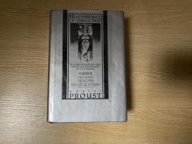 Remembrance of Things Past 3:The Captive,The Fugitive,Time Regained   普鲁斯特《追忆逝水年华》英文原版,卷3(全套3卷),译文赫赫有名,毛姆说普鲁斯特在英译中丝毫无损。兰登书屋版,布面精装,重超1公斤