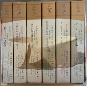 追忆逝水年华   最新修订注释版   全6卷 套盒装       书后附有补遗和各章的注释及简短提要  最后一卷附有全书人名、地名和主题列表,以供读者查询。 此套书厚达4800多页