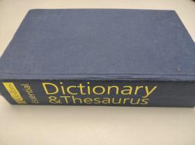 ESSENTIAL dictionary & thesaurus 柯林斯 必选词典和同义词库 精装超厚 特价库存书
