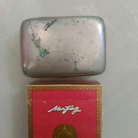 早期,(民国〉,小印章盒,〈铜质,,。保存状况较好,无大缺陷