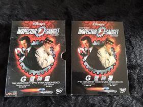 DVD光盘1张 G型神探 精装