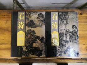 石涛画集(上下全两册)大16开精装   2003年一版一印  仅印5000册