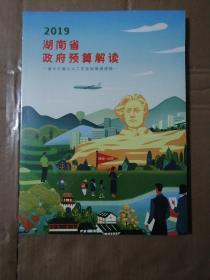 2019湖南省政府预算解读