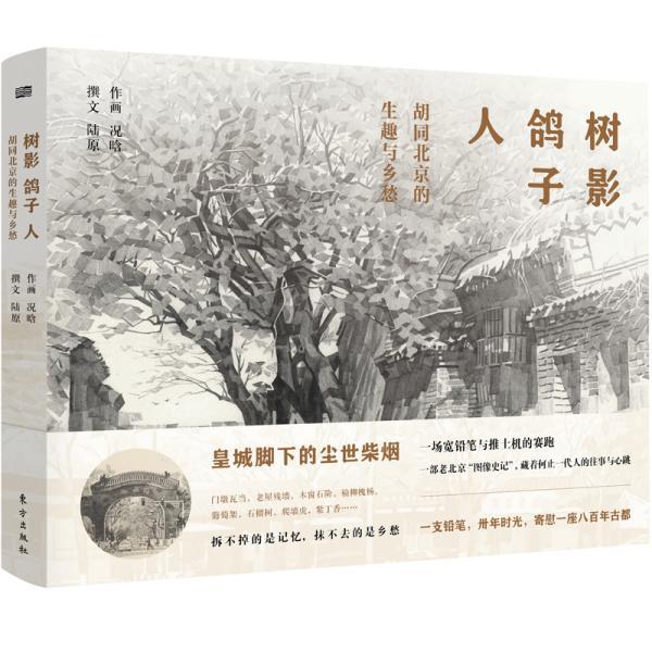 树影、鸽子、人 胡同北京的生趣与乡愁(精装)