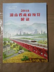 2018湖南省政府预算解读