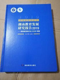 湖南教育蓝皮书湖南教育发展研究报告2019—湖南教育现代化2035专辑