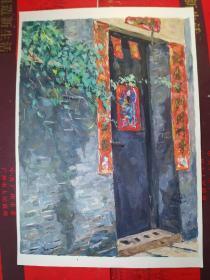 【广州画家所画的小画------原画】一张。品如图。AA1