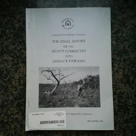 Report of the select committee into Dieback diseases