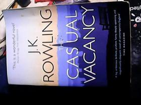J.K. ROWLING`The Casual Vacancy (临时空缺)英文原版 平装版 哈利波特之母JK罗琳作品