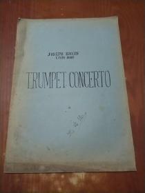 TRUMPET CONCERTO (小号协奏曲 沈培德签名)