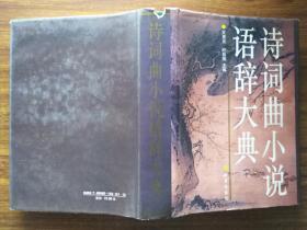 诗词曲小说语辞大典