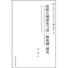 """南阳古城演变与清""""梅花城""""研究"""