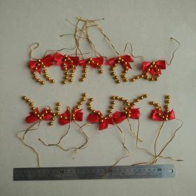 蝴蝶花球挂饰新年春节喜庆过年节日乔迁新居客厅花园挂饰收藏珍藏