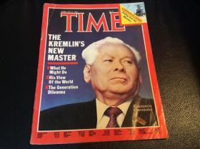 time 时代周刊1984年2月苏联克里姆林宫的新书记契尔年科