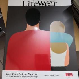 优衣库杂志《LifeWear》日本原版