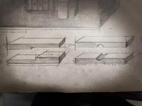 参照邓散木篆刻学重新设计的老式印床