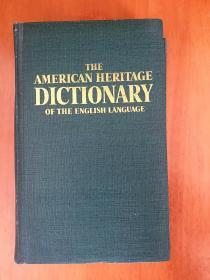 THE AMERICAN HERITAGE DICTIONARY OF THE ENGLISH LANGWAGE 美国传统词典