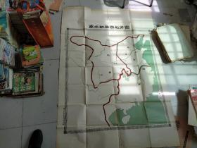 50年代南北朝后期形式图(超大幅1.5m1.1m)