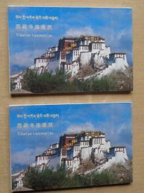 西藏寺庙建筑 明信片一套10张 80年代