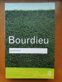 Distinction: A Social Critique of the Judgement of Taste(La distinction)Pierre Bourdieu 区分/区隔 布赫迪厄/布迪厄