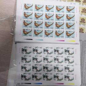 珍禽邮票(大版)