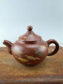 紫砂老茶壶B1373.