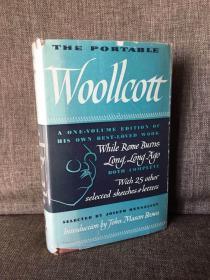 The Portable Woollcott(《亚历山大·伍尔科特文集》,布面精装带护封,1946年老版本)