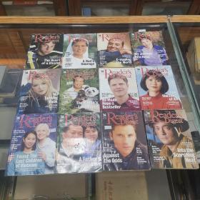 读者文摘英文原版(Readers Digest)2000年12期全,共12册合售 32开