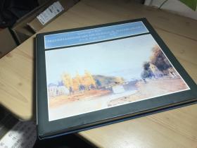 图多而精稀见现货1994年 British Landscape Drawings and Watercolours from the Pierpont Morgan Library --Gainsborough to Ruskin  皮尔庞特摩根图书馆藏英国风景画和水彩画--从康斯博罗到罗斯金 大32横开176页(此书需预定两周)