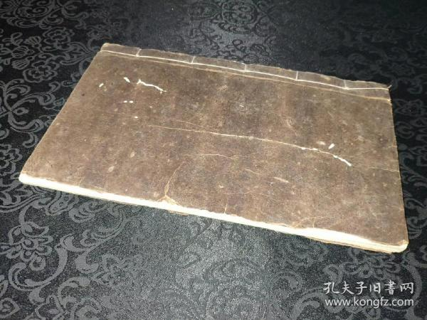 9173稀见,越南本,民国大开本精抄符咒本,一厚册48个筒子页,符法众多!!