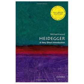 海德格尔(牛津通识读本)第二版 英文原版 Heidegger: A Very Short Introduction 哲学