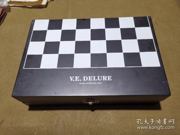 V.E.DELURE 迪莱 硅胶质红酒瓶塞国际象棋