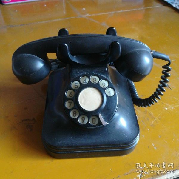 五六十年代电话机,完好能使用