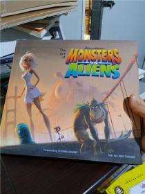 正版实拍;Art of Monsters vs. Aliens Intl, The
