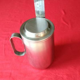 不锈钢茶杯保温杯不锈钢保温壶男女士商务直身杯泡茶杯水杯子二手