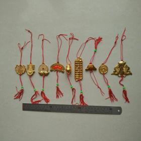 新年挂件春节喜庆过年节日乔迁新居装饰客厅花园塑料挂饰收藏珍藏