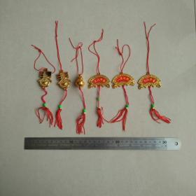 新年挂件喜庆过年节日春节乔迁新居装饰客厅花园塑料挂饰收藏珍藏
