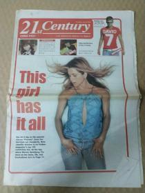 《21世紀報》(英文版)   2003年6月26日