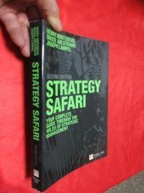 Strategy Safari: The complete guide through the wilds of strategic management     (小16开)   【详见图】