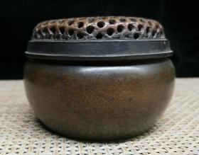 德颐斋紫铜炉