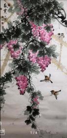 国家一级美术师韩普俊手绘真迹!  四 尺秋实